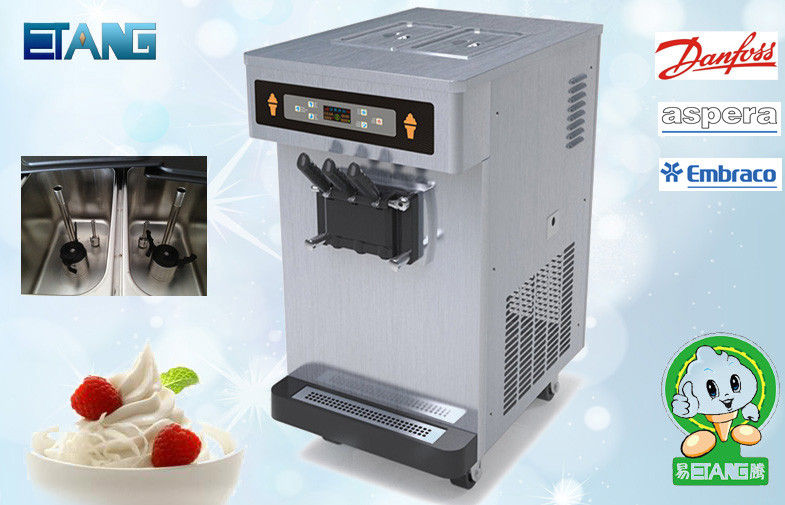 Table Top Frozen Yogurt Making Equipment With Pre-Cooling System