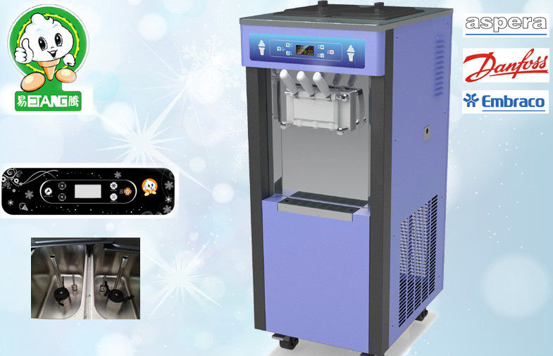 High Expansion Automatic Ice Cream Machine , All Digital Display