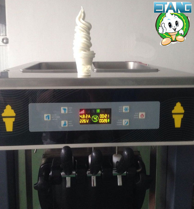 Table Model Frozen Yogurt Machines , Full Stainless Steel with Standby system
