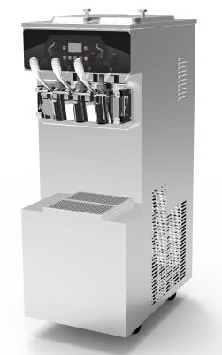 Automatic Frozen Yogurt Machines / Commercial Yogurt Maker With 1 Year Warranty
