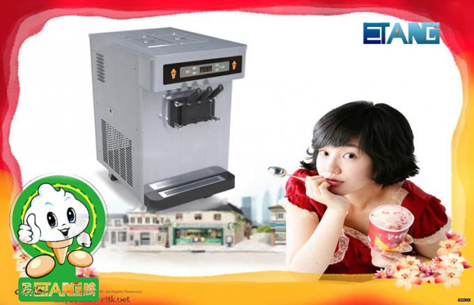 Table Top Soft Serve Ice Cream Machines ,Keep Fresh of Mixture Overnight