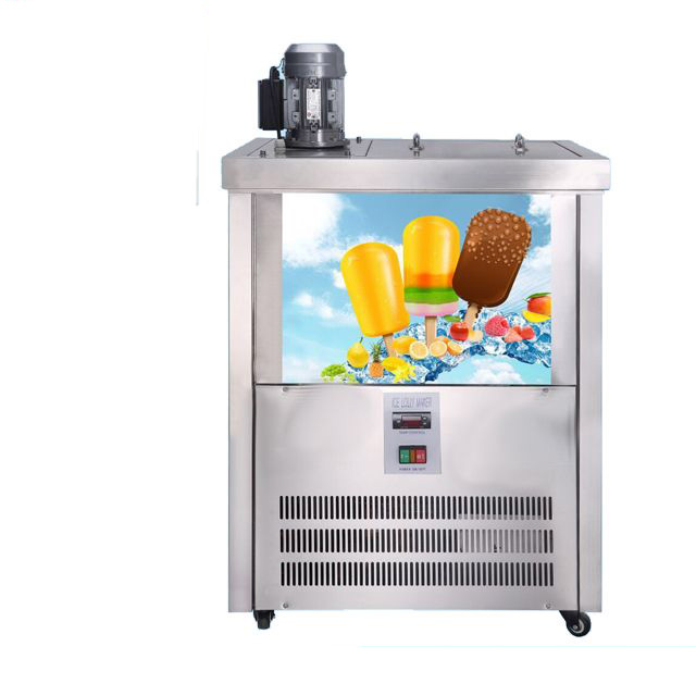 Two Moulds Popsicle Machine